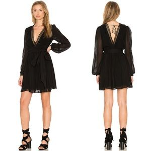 Rebecca Minkoff Lolo Dress in Black G532